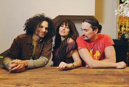 L-R: Toby Peter, Silvana Kane, & Adam Popowitz (photo by Rebecca Blissett)